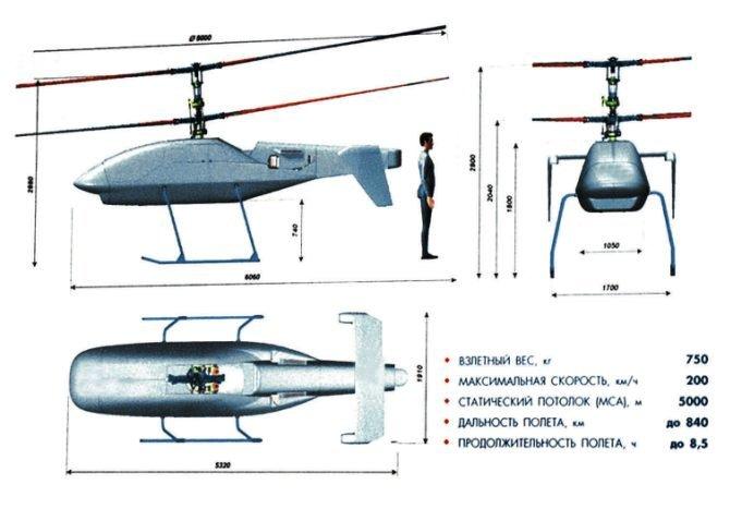 KAMOV SVELA IL DRONE KA-175 - il velivolo a pilotaggio remoto potrebbe fare il suo primo volo entro la fine del 2015