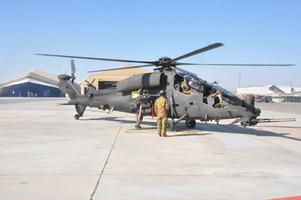 Mangusta 2 Elicottero : Test in afghanistan per gli elicotteri aw d mangusta