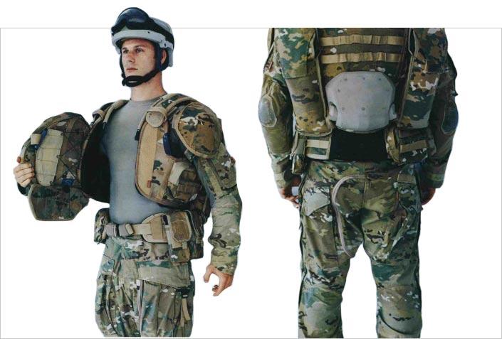 la nuova uniforme da combattimento americana ocp in 3d
