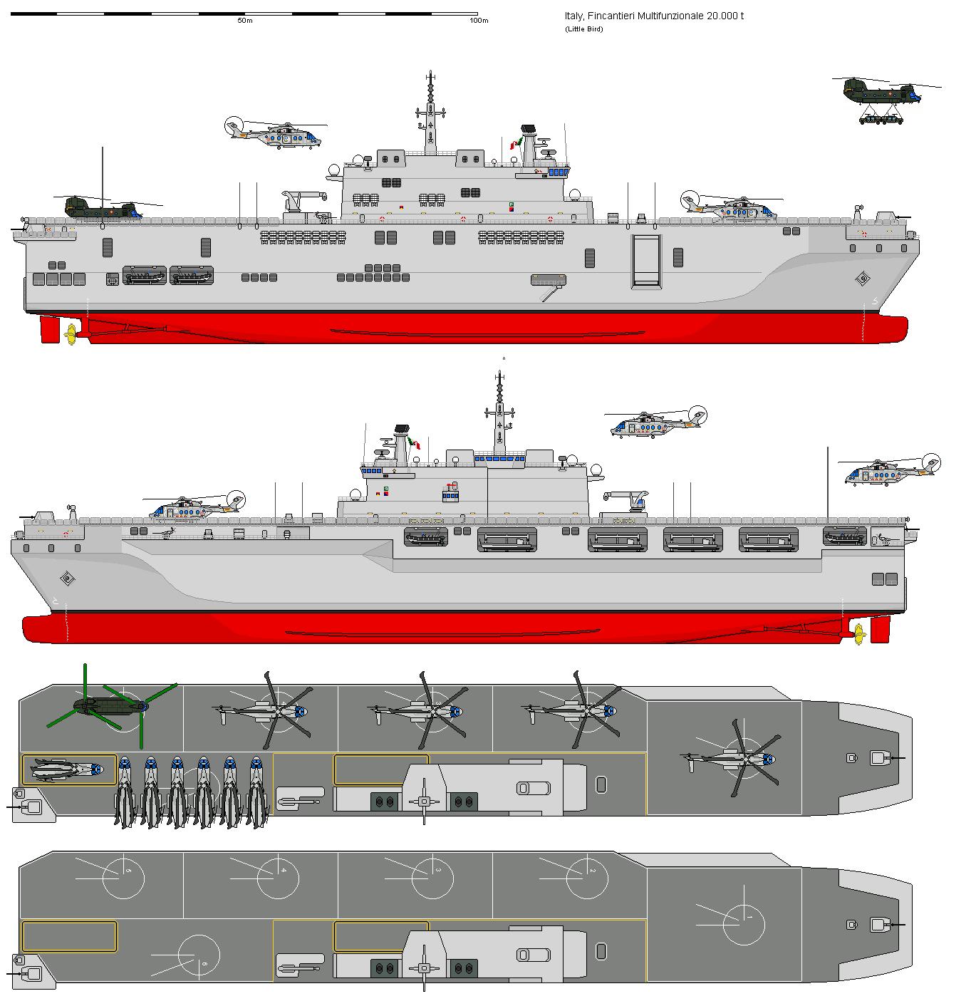Fincantieri e finmeccanica rinnovano la flotta italiana - Nuova portaerei italiana trieste ...