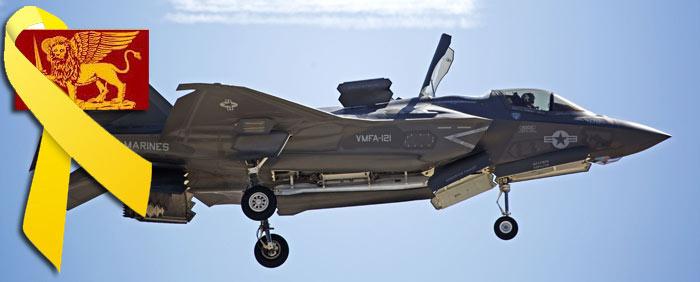 L'F-35 IMPIEGHERA' FINO AL 2020 UN SISTEMA DI PUNTAMENTO GIA' OGGI OBSOLETO - annunciato ufficialmente che si sta lavorando a un Advanced EOTS per gli F-35