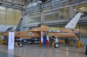 1st M-346 Polish Air Force in final assembly