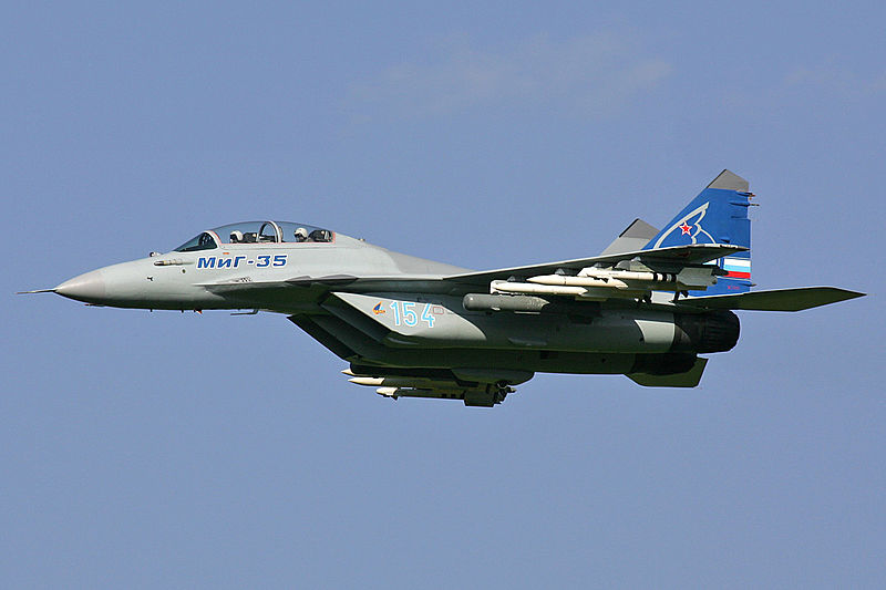 800px-Mikoyan-Gurevich_MiG-35_MAKS2007_Pichugin