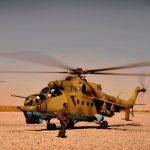 Afghan_Air_Corps_Mi-35_at_Kandahar_Airfield_2009