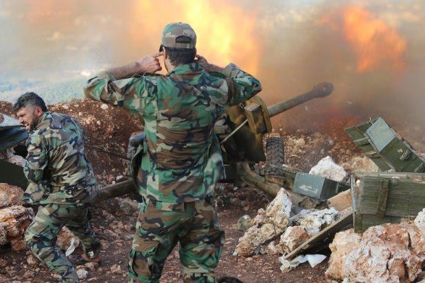 Artiglieria-Siriana-Aleppo-AP