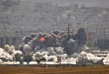 Fighting-at-Kobani