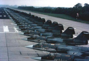 Lockheed-F-104-Starfighters-in-German-Luftwaffe-service