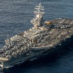 USS-Ronald-Reagan-Welcomes-UK-Officials-Aboard