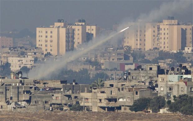 israele-gaza-razzo-hamas
