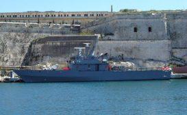 Fincantieri ammoderna un pattugliatore maltese