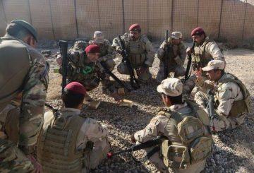 Truppoe irachene Mosul US DoD