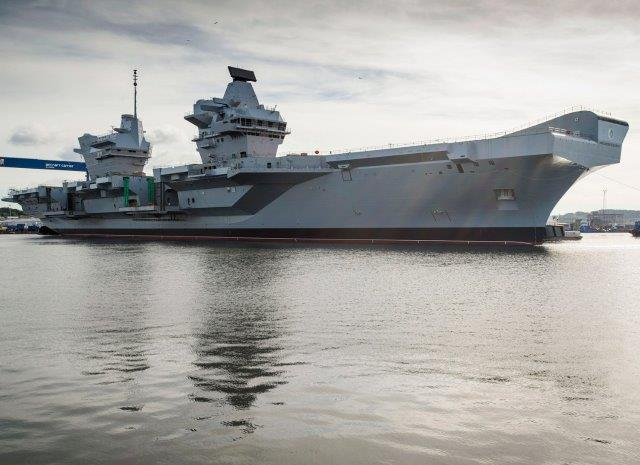 HMS-Queen-Elizabeth-Masthead