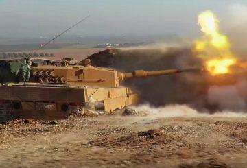 Leopard turco in Siria al-Bab TWITTER