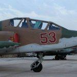 SU 25 russi a Latakya