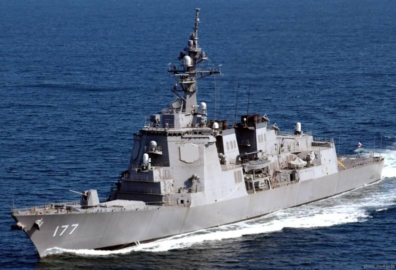 I cacciatorpedinere, spina dorsale della Marina Giapponese