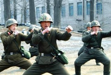 North Korean soldiers attend a military training in this picture released by the North Korea's official KCNA news agency in Pyongyang March 6, 2013. REUTERS/KCNA