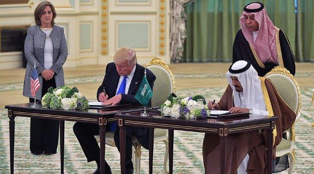 Riad compra armi USA per centinaia di miliardi