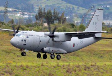 Leonardo_C-27J_01_ Fuerza Aérea del Perù