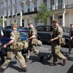 Soldati a Londra