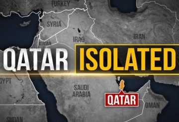 Qatar+Isolated+Map