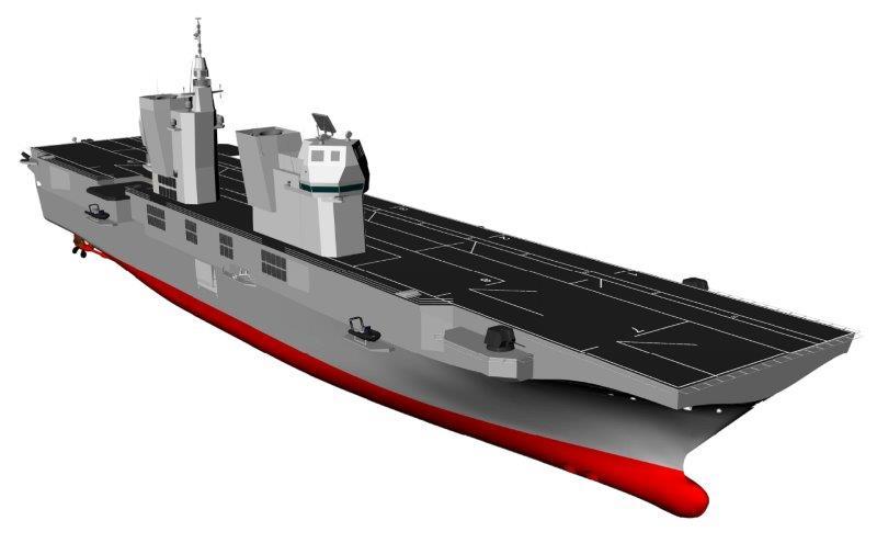 Al via la costruzione della nuova lhd della marina - Nuova portaerei ...