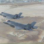 L'arrivo a Edwards dei due F-35 olandesi
