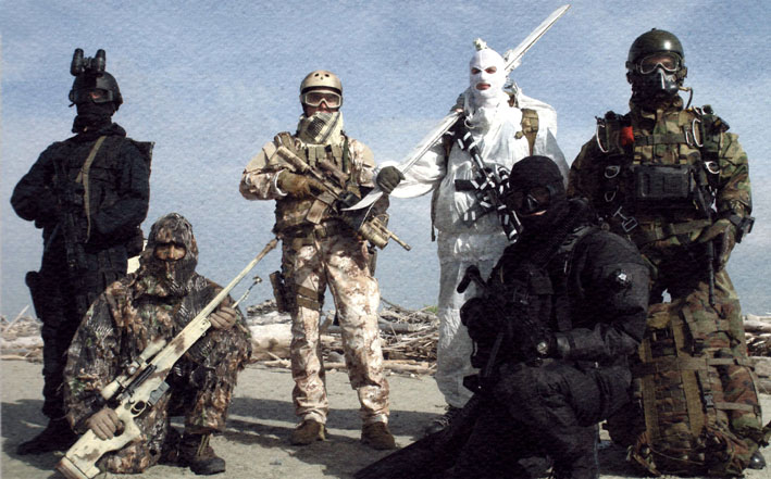 Incursori dell'Esercito: punti di vista su origini, radici e identità