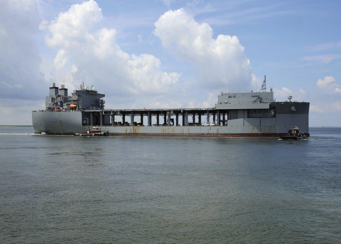 Le nuove soluzioni della US Navy per il Seabasing