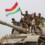 AFP Peshmerga outside Kirkuk)