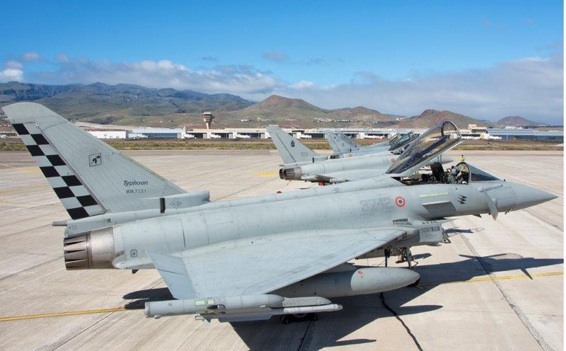 Aereo Da Caccia Italiani : I caccia italiani e greci difenderanno lo spazio aereo del