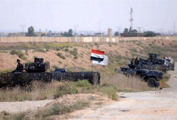 EPA forze irachene vicino a Kirkuk