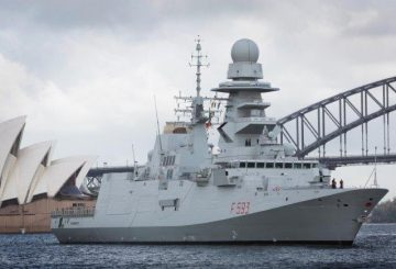 FREMM Carabiniere a Sidney_@Australian Navy