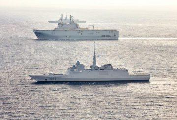 FREMM ed unità classe Mistral francesi insieme_@Naval Group