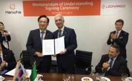 ADEX: accordo di collaborazione tra Leonardo e Hanwha Systems