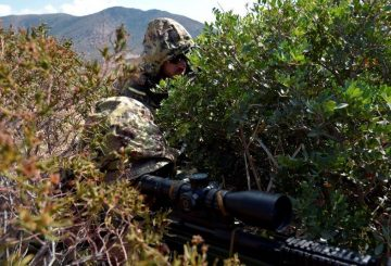 Sniper del 152 ''Sassari''