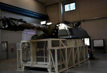 9. simulatore del semovente PzH2000