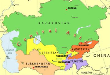 Central-Asia-Map