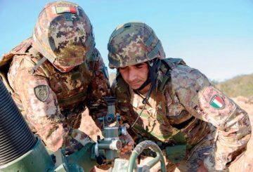 4 mortaisti del 151 in addestramento (1)