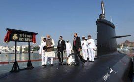 In servizio il primo sottomarino Scorpene costruito in India