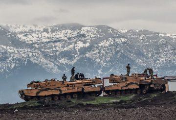 Leopèard 2 turchi Afrin Twitter