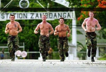 Philippoine Star us-troops-jogging