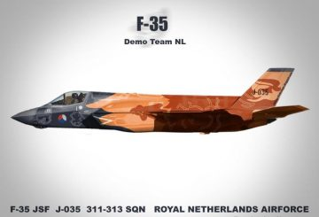 RNALF F35 Wallpaper