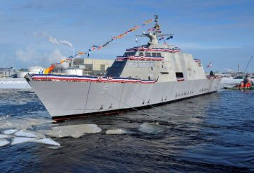 USS Milwaukee LCS 5 dopo il varo_@Lockheed Martin