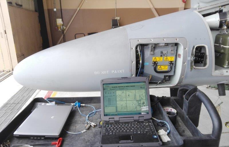 L159 radar during OLevel maintenance (002)