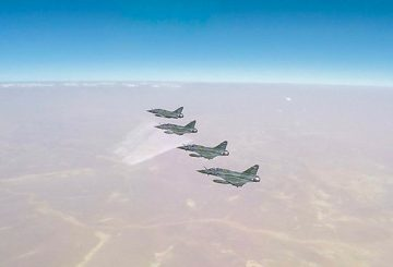 Mission AI SCALP à 5 avions sur Raqqah.