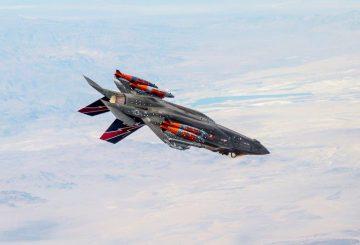 4. F-35A External JDAMs Test