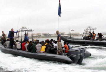 Libia COAST GUARD AFP