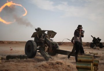 !22 mm Hiwutzer Syrian Army Abu Kamal Front Twitter