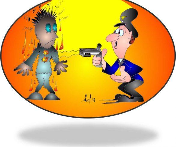 In Italia arriva il taser, arma non letale