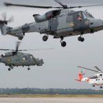 Leonardo helicopters departing for FIA2108 (002)